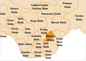 Position of Ebonyi State in the 36-State Structure of Nigeria